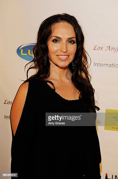 Isabel Cueva attends the Los Angeles Women's International Film Festival Opening Night Gala at Libertine on March 26 2010 in Los Angeles California