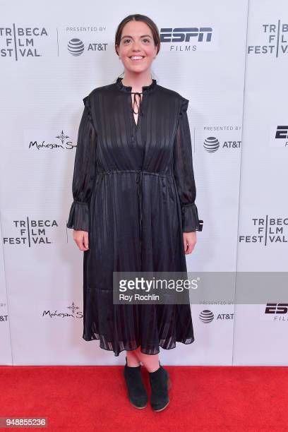 Isabel Davis attends a screening of 'No Greater Law' during the 2018 Tribeca Film Festival at Cinepolis Chelsea on April 19 2018 in New York City