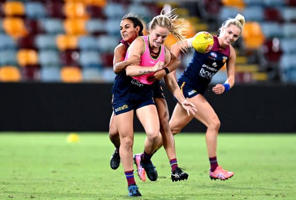 AUS: Brisbane Lions AFLW Training Session