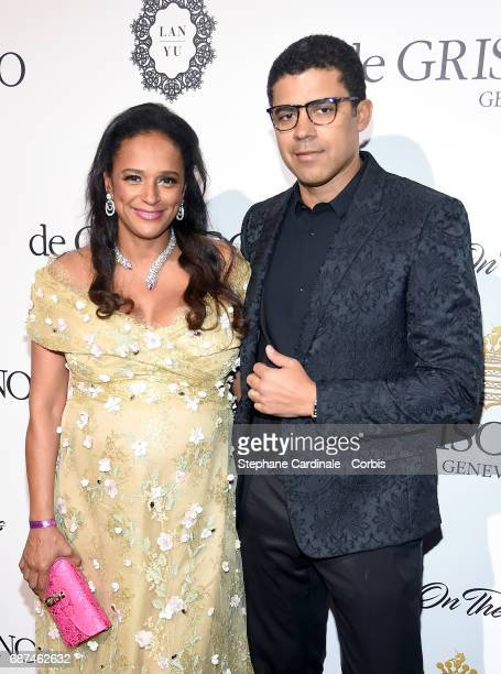 Isabel dos Santos and Sindika Dokolo attend DeGrisogono Love On The Rocks during the 70th annual Cannes Film Festival at Hotel du CapEdenRoc on May...