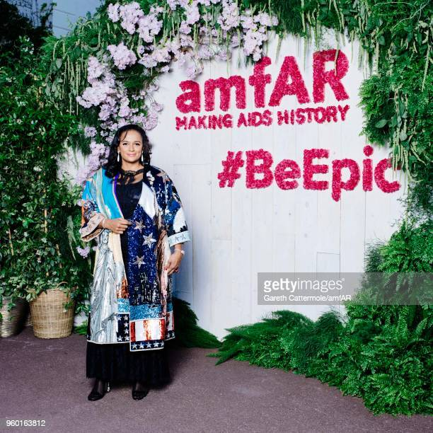 Isabel Dos Santos attends the amfAR Gala Cannes 2018 Studio at Hotel du CapEdenRoc on May 17 2018 in Cap d'Antibes France