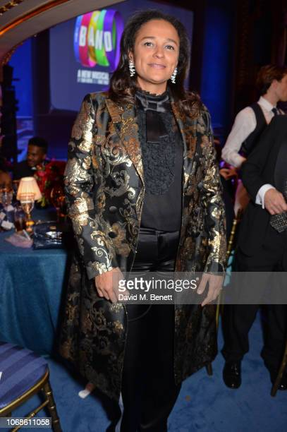 Isabel dos Santos attends the Opening Night Gala of The Band to benefit the Elton John AIDS Foundation supported by The Evening Standard at Theatre...