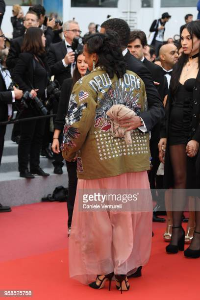 Isabel dos Santos attends the screening of Blackkklansman during the 71st annual Cannes Film Festival at Palais des Festivals on May 14 2018 in...
