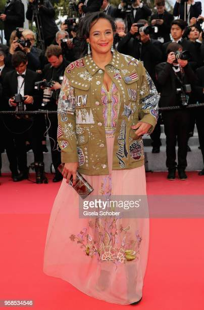 "Isabel dos Santos attends the screening of ""BlacKkKlansman"" during the 71st annual Cannes Film Festival at Palais des Festivals on May 14, 2018 in..."