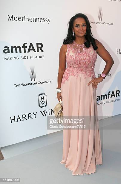 Isabel dos Santos during amfAR's 22nd Cinema Against AIDS Gala Presented By Bold Films And Harry Winston at Hotel du CapEdenRoc on May 21 2015 in Cap...