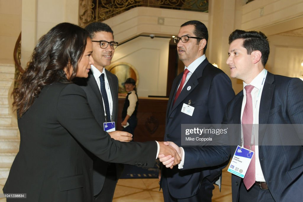 Isabel Dos Santos Sindika Dokolo Sultan Ahmed Al Jaber And Omar News Photo Getty Images