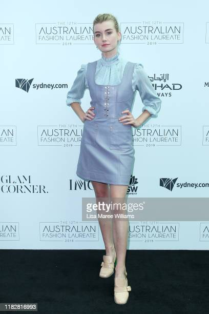 Isabel Durant attends the Australian Fashion Laureate 2019 at Cafe Sydney on October 23 2019 in Sydney Australia