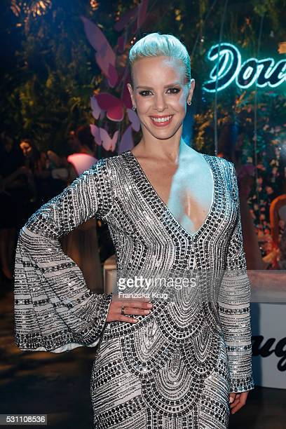 Isabel Edvardson attends the Douglas at Duftstars at Kraftwerk Mitte on May 12, 2016 in Berlin, Germany.