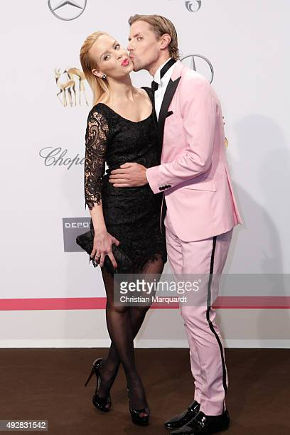 Isabel Edvardsson and Jens Hilbert attend the Tribute to Bambi 2015 at Station on October 15 2015 in Berlin Germany
