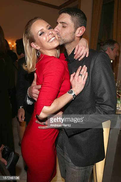 Isabel Edvardsson and Marcus Weiss attend Movie meets Media at Hotel Atlantic on November 30 2012 in Hamburg Germany