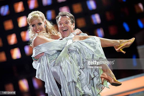 Isabel Edvardsson and Patrick Lindner perform during 'Let's Dance' Finals at Coloneum on May 23 2012 in Cologne Germany