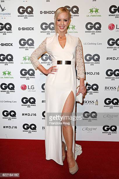 Isabel Edvardsson arrives at the GQ Men of the year Award 2016 at Komische Oper on November 10 2016 in Berlin Germany