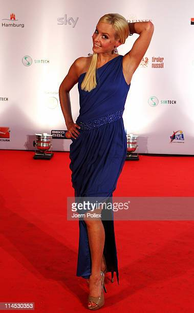 Isabel Edvardsson arrives for the Herbert Award 2011 Gala at the Elysee Hotel on May 23 2011 in Hamburg Germany