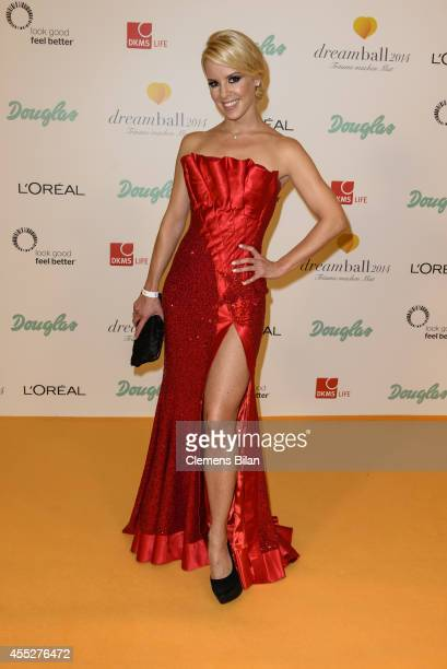 Isabel Edvardsson attends the Dreamball 2014 at Ritz Carlton on September 11 2014 in Berlin Germany
