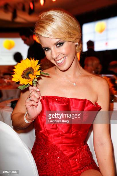 Isabel Edvardsson attends the Dreamball 2014 at the Ritz Carlton on September 11 2014 in Berlin Germany