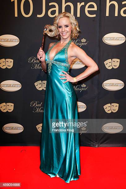 Isabel Edvardsson attends the Hairfree Celebrates 10 Year Anniversary with Bal Masque on November 15 2014 in Darmstadt Germany