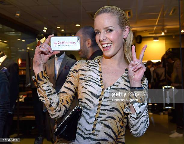 Isabel Edvardsson attends the Paisley Spring/Summer Collection Presentation on May 6 2015 in Hamburg Germany
