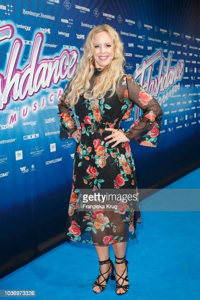 Isabel Edvardsson attends the premiere of 'Flashdance Das Musical' at Mehr Theater on September 20 2018 in Hamburg Germany