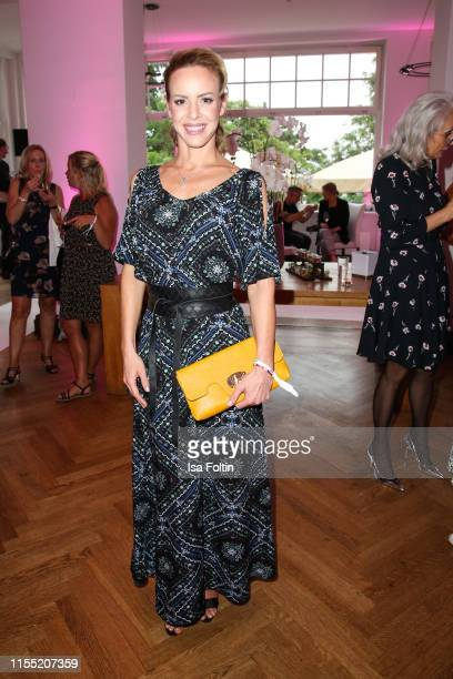 Isabel Edvardsson during the Ernsting's family Fashion Show 2019 on July 11, 2019 in Hamburg, Germany.
