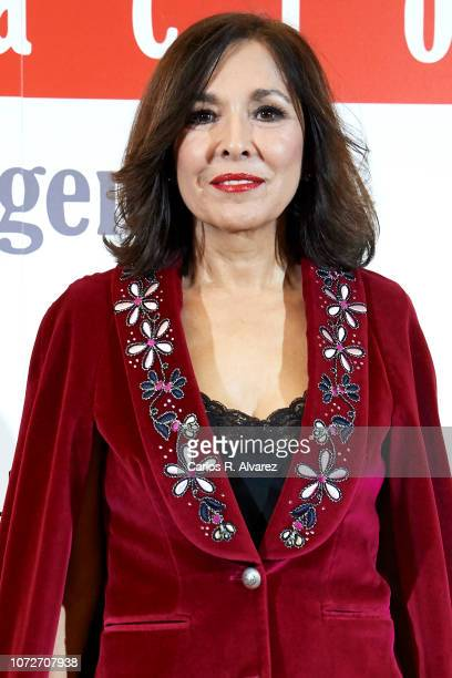 Isabel Gemio attends 'Estrellas por la Ciencia' gala at the Canal Theater on November 26 2018 in Madrid Spain