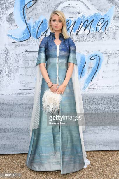 Isabel Getty attends The Summer Party 2019 Presented By Serpentine Galleries And Chanel at The Serpentine Gallery on June 25 2019 in London England