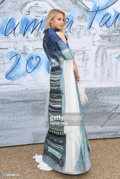 Isabel Getty attends The Summer Party 2019 Presented By Serpentine Galleries And Chanel at The Serpentine Gallery on June 25, 2019 in London, England.