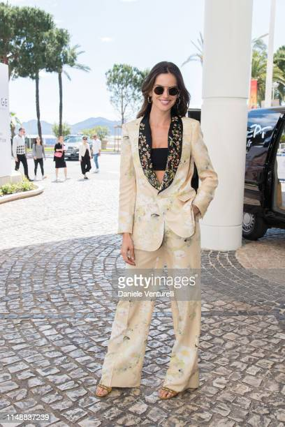 Isabel Goulart ahead of the 72nd annual Cannes Film Festival at on May 13, 2019 in Cannes, France.
