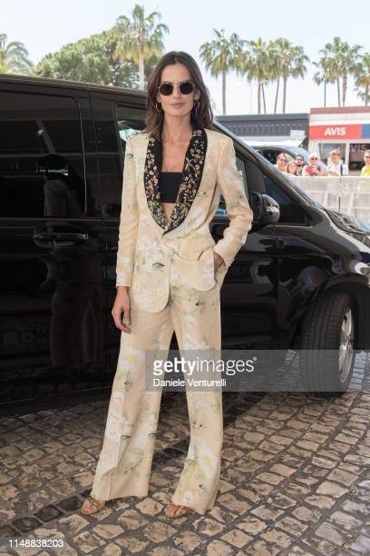 Isabel Goulart ahead of the 72nd annual Cannes Film Festival at on May 13 2019 in Cannes France