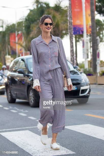 Isabel Goulart is seen during the 72nd annual Cannes Film Festival on May 22 2019 in Cannes France