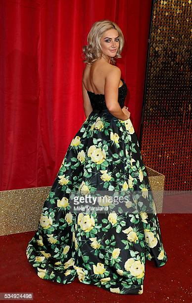 Isabel Hodgins attends the British Soap Awards 2016 at Hackney Empire on May 28 2016 in London England