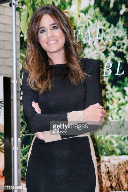Isabel Jimenez attends a seminar about maternity and beauty on September 25 2019 in Madrid Spain