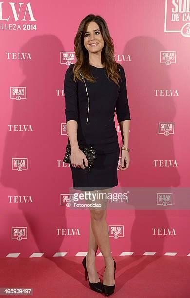 Isabel Jimenez attends 'T de Telva' beauty awards 2014 at the Palace Hotel on January 30 2014 in Madrid Spain