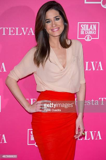 Isabel Jimenez attends Telva Beauty Awards at Palace hotel on February 2 2015 in Madrid Spain