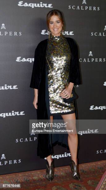 Isabel Jimenez attends the 10 Magnificent Fashion of the Decade Award by Esquire Scalpers at Santa Coloma Palace on November 22 2017 in Madrid Spain
