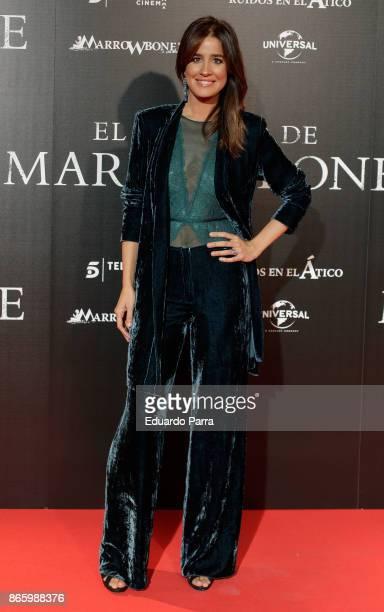Isabel Jimenez attends the 'El secreto de Marrowbone' photocall at Capitol cinema on October 24 2017 in Madrid Spain
