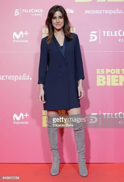 Isabel Jimenez attends the 'Es por tu bien' premiere at Capitol cinema on February 22 2017 in Madrid Spain