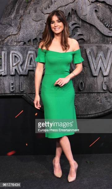 Isabel Jimenez attends the 'Jurassic World Fallen Kindom' premiere at Wizink Center on May 21 2018 in Madrid Spain
