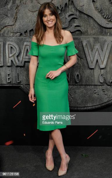 Isabel Jimenez attends the 'Jurassic World Fallen Kingdom' premiere at Wizink Center on May 21 2018 in Madrid Spain