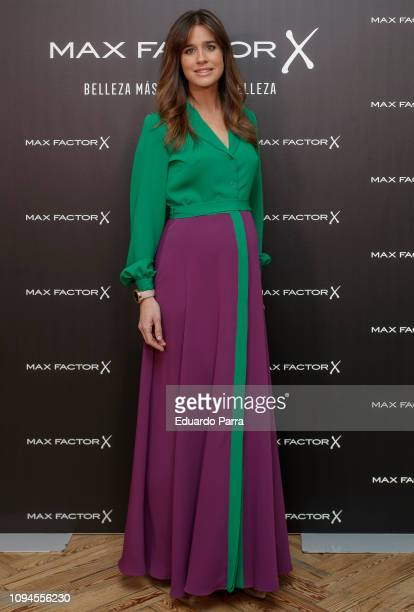 Isabel Jimenez attends the 'Max Factor Campaign' presentation at Allard Club on January 15 2019 in Madrid Spain