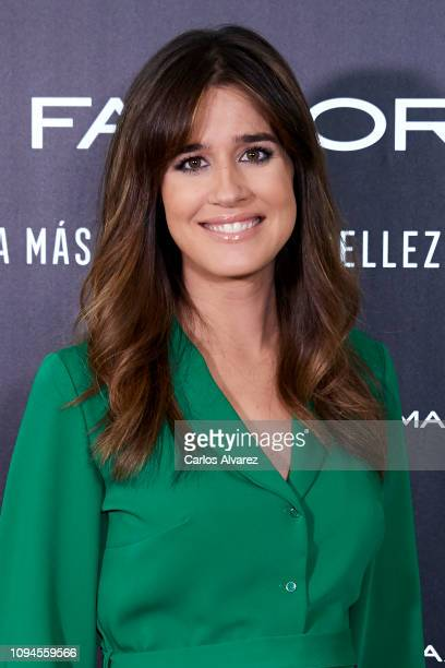 Isabel Jimenez attends the new Max Factor campaign presentation at the Allard Club on January 15 2019 in Madrid Spain
