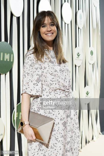 Isabel Jimenez attends the photocall of the International Fair of Children and Youth Fashion in ifema madrid Spain February 1 2019