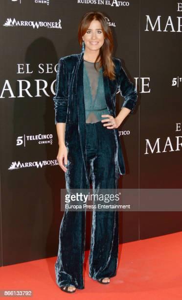Isabel Jimenez attends the premier of 'El Secreto de Marrowbone' at Capitol cinema on October 24 2017 in Madrid Spain