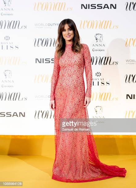 Isabel Jimenez attends Woman awards 2018 at the Casino de Madrid on October 30 2018 in Madrid Spain