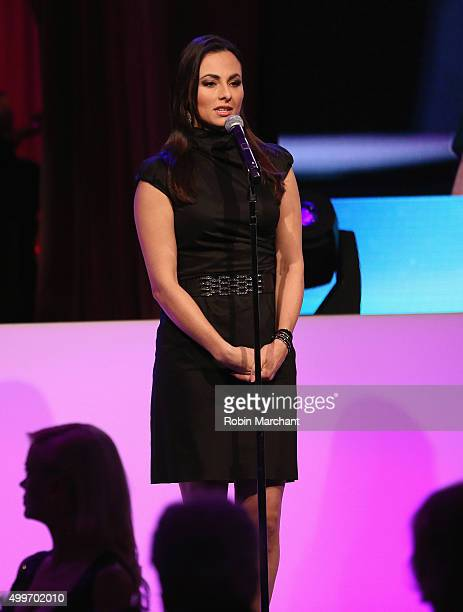 Isabel Leonard attends the Prostate Cancer Foundation Invites You To The 2015 New York Dinner With Celebrity Hosts Whoopi Goldberg John O'Hurley At...