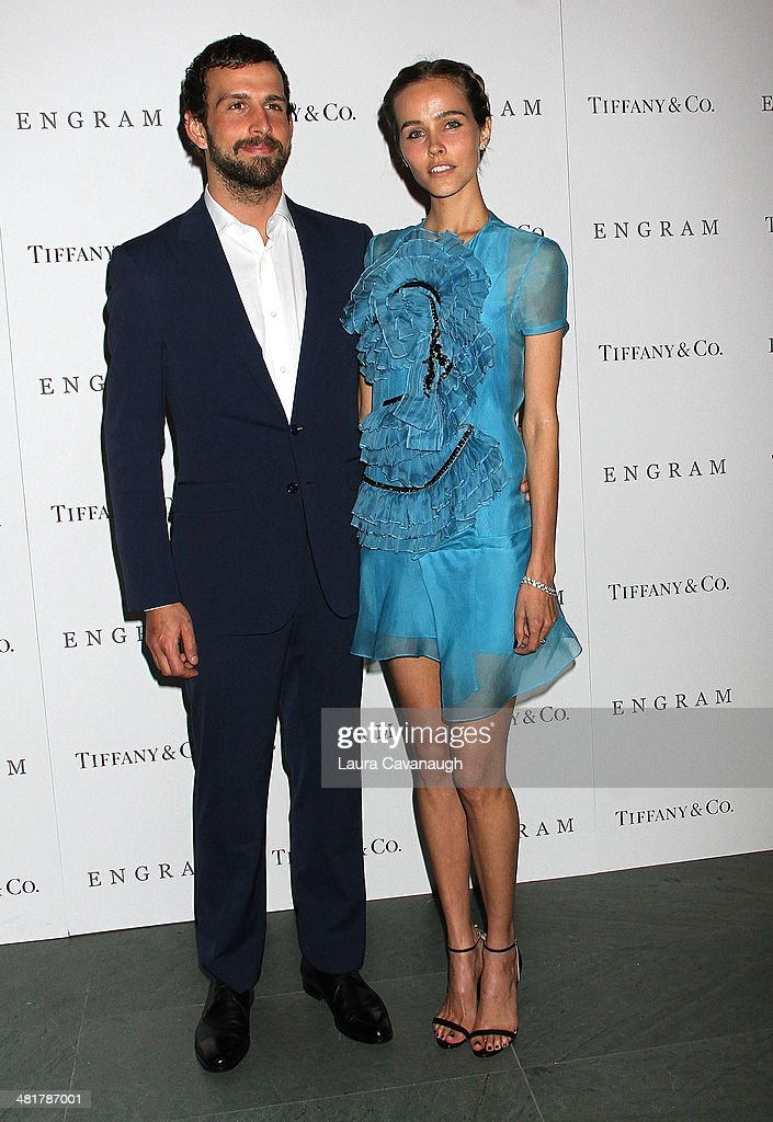 Isabel Lucas and Chadd Konig attend the 'Engram' screening at the Celeste Bartos Theater at the Museum of Modern Art on March 31, 2014 in New York City.