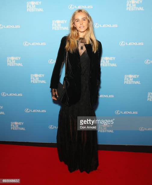 Isabel Lucas arrives ahead of the Sydney Film Festival Opening Night Gala at State Theatre on June 7 2017 in Sydney Australia