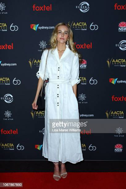 Isabel Lucas attends the 2018 AACTA Awards Presented by Foxtel | Industry Luncheon at The Star on December 3 2018 in Sydney Australia