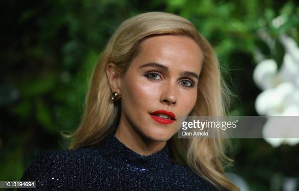 Isabel Lucas attends the David Jones Spring Summer 18 Collections Launch at Fox Studios on August 8 2018 in Sydney Australia