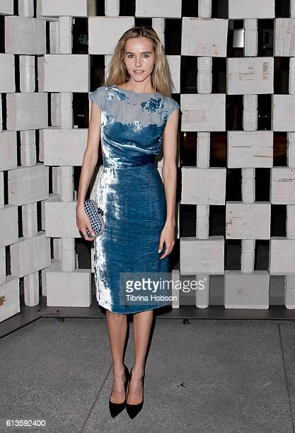 Isabel Lucas attends the Hammer Museum's 14th annual Gala In The Garden at Hammer Museum on October 8 2016 in Westwood California