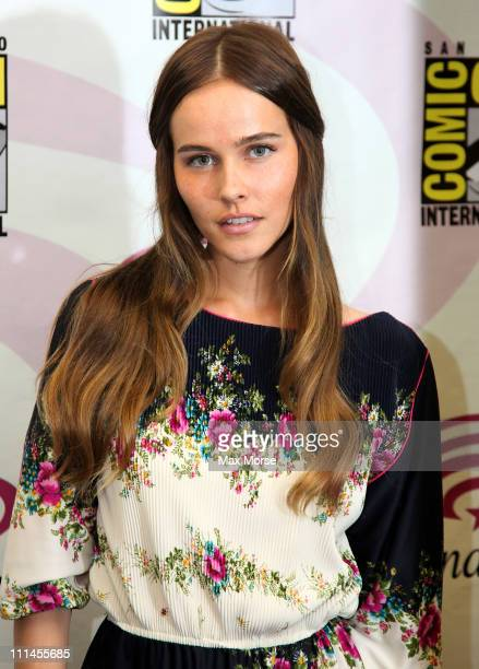 Isabel Lucas poses during 2011 WonderCon at Moscone Convention Center on April 2, 2011 in San Francisco, California.